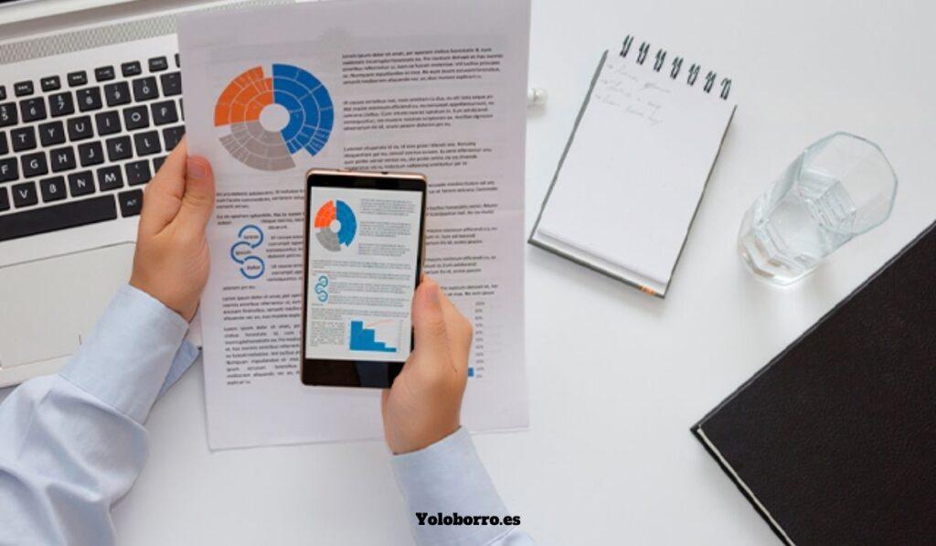 Digitalización de documentos desde un teléfono móvil