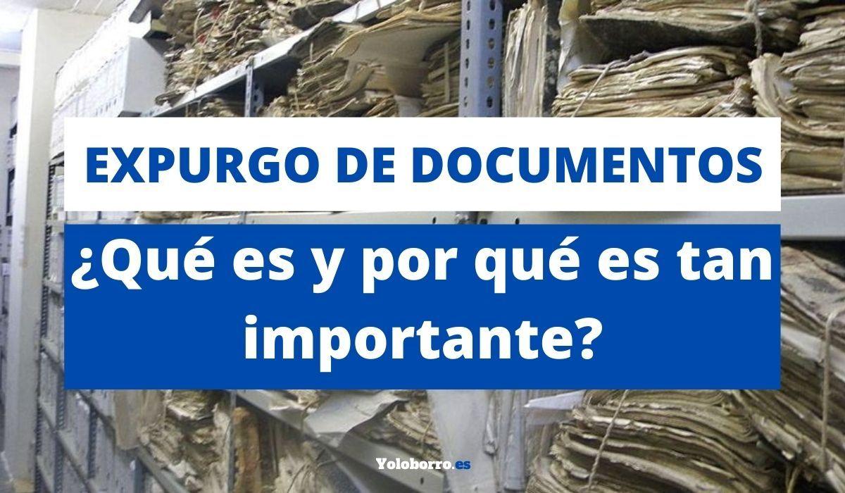 Expurgo de documentos: ¿Qué es y por qué es tan importante?