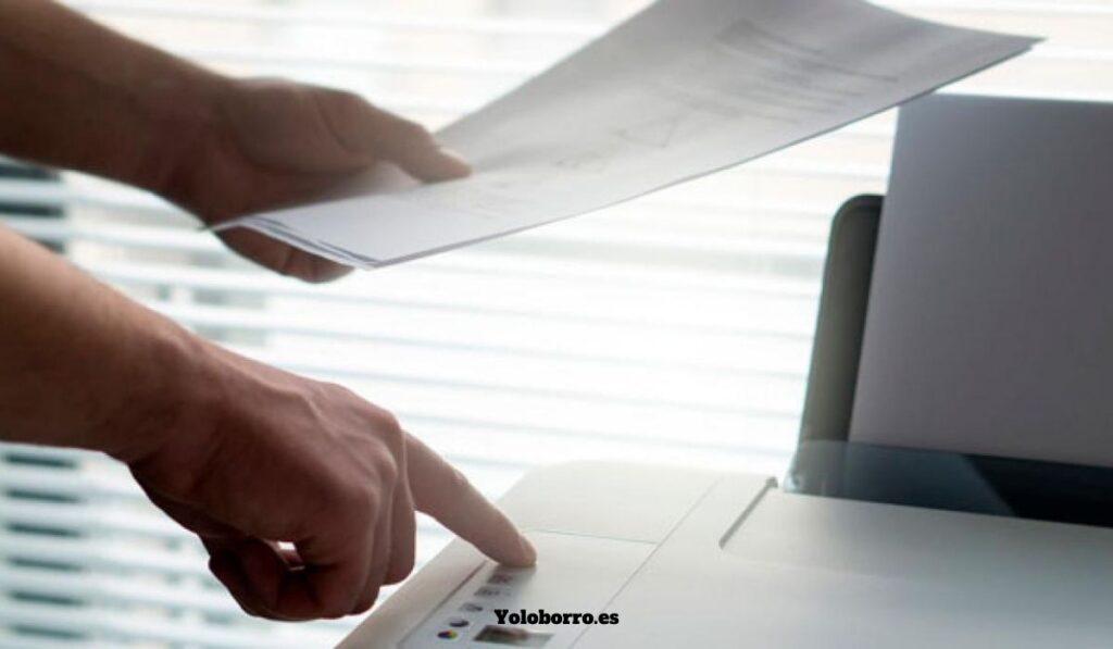 Digitalización de documentos desde una computadora