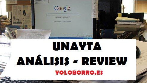 Review, valoración y opinión de Unayta