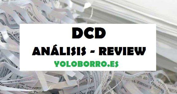 Review, valoración y opinión de DCD